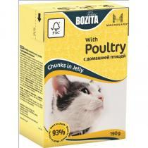 Bozita Mini with Poultry консервы для кошек с птицей 190 г