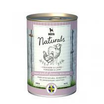 Bozita Naturals консервы для собак с курицей и ягненком 410 г
