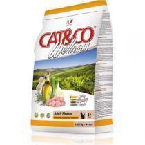 Adragna Cat&Co Wellness Adult Fitness Pollo & Piselli сухой корм для кошек с курицей и горохом