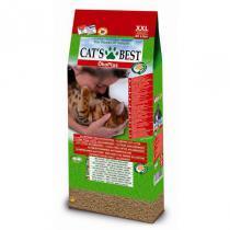 Cat's Best Eko Plus наполнитель для кошачьего туалета древесный комкующийся