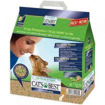 Cat's Best Green Power древесный комкующийся наполнитель антибактериальный для котят и кошек 3,2 кг