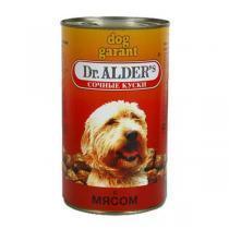 Dr. Alders Гарант консервы для собак с говядиной 1240 г