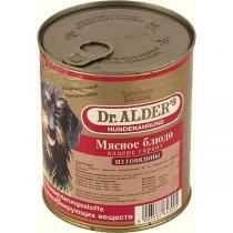 Dr. Alders Гарант консервы-паштет для собак с говядиной