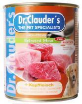 Dr. Clauder`s консервы для собак с мясом / 800г*6шт