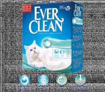 Ever Clean Aqua Breeze наполнитель кошачьего туалета с ароматом морской свежести