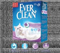Ever Clean Lavender наполнитель кошачьего туалета с ароматом лаванды