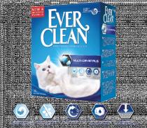 Ever Clean Multi-Crystals наполнитель кошачьего туалета с добавлением мультикристаллов