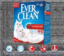 Ever Clean Multiple Cat наполнитель для кошачьего туалета для нескольких кошек
