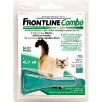 Фронтлайн Combo капли для кошек от блох и клещей (флакон)