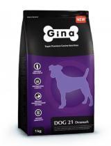 Gina Dog 21 Denmark сухой корм для собак с нормальной активностью 18 кг