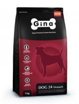 Gina Dog 24 Denmark сухой корм с ягненком для взрослых собак 18 кг
