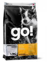 Go! Natural для щенков и собак сухой корм с цельной уткой и овсянкой