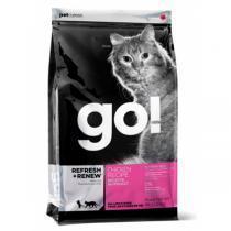 Go! Natural Refresh + Renew Chicken Cat Recipe 32/20 сухой корм для кошек склонных к полноте с курицей и лососем