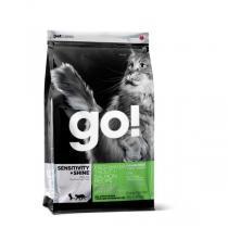 Go! Natural Sensitivity + Shine Grain Free Freshwater Trout&Salmon Cat Recipe 48/18 сухой корм для кошек склонных к полноте с форелью