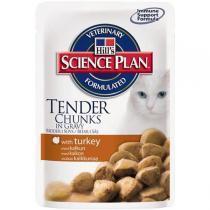 Hills Adult Turkey пауч консервы для кошек с индейкой 85 г (12 штук)