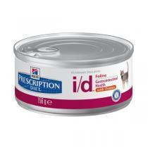 Hills Feline i/d лечебные консервы для кошек при заболеваниях ЖКТ 156 г
