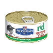 Hills Feline r/d лечебные консервы для кошек при ожирении 156 г