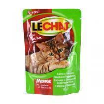 Lechat консервы для кошек с мясом и овощами 100 г (24 штуки)