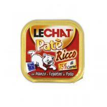 Lechat консервы для кошек с мясом и печенью кролика 100 г (32 штуки)