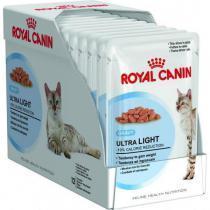 Royal Canin Ultra Light влажный корм для кошек склонных к полноте (в соусе) 85г*12шт
