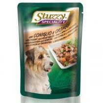 Stuzzy Speciality Rabbit & Vegetables влажный корм для собак с кроликом и овощами 100 г (24 шт. в упаковке)